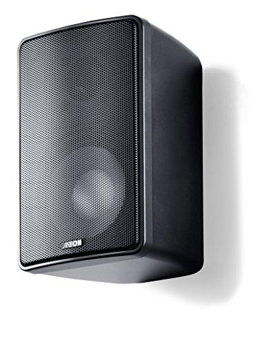 Canton Plus X.3 Kleinlautsprecher (50/100 Watt) schwarz (Paar)