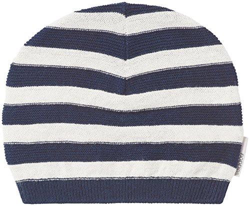 Noppies Unisex Baby Mütze U Hat Knit Dongo, Blau (Dark Indigo C152), neugeboren...