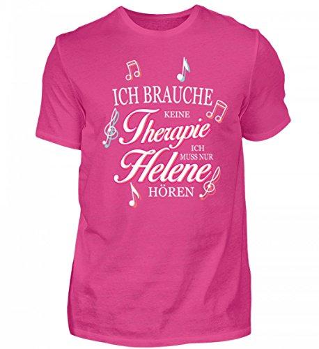 GetMerch Ich Muss Nur Helene hören Schlager Fan-Shirt für Fischer Fans - Herren Premiumshirt