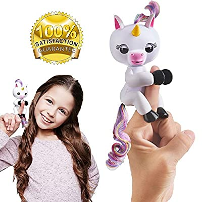 Unicorn Fingerlings Interactive Pet toy GIGI ⭐️⭐️ ‼️.UK Based.‼️