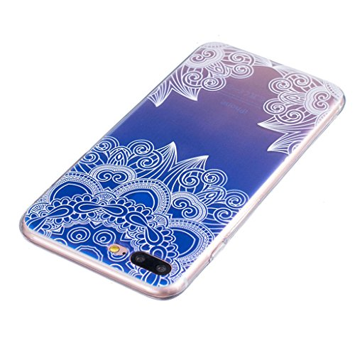 "iPhone 7 Plus Coque - MYTHOLLOGY Antichoc Housse Transparent Silicone Souple Slim Coque Pour iPhone 7 Plus (5.5"") - LSBH JBLS"