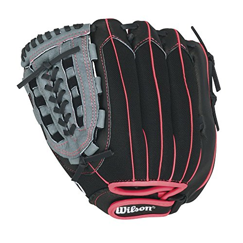Wilson Sporting Goods CO. Flash FP 115 Baseball Handschuhe (Baseball-handschuh-rot-blau)