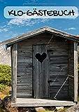 Klo-Gästebuch: Hinterlass mir was! - DIN A4   120 Seiten   Blanko   Geschenkidee