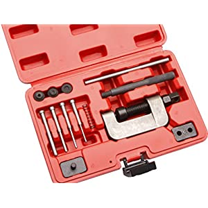 Kit rivé dérive chaîne moto Coffret extracteur separateur de chaîne de distribution et rivet chaîne motopas cher