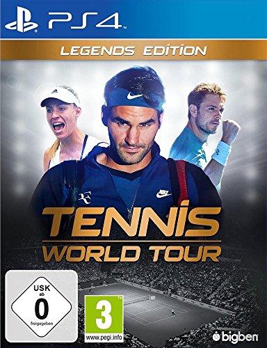 Tennis World Tour - Legend Edition [Importación francesa]