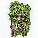 Fiesta Studios - Placa de Cara para jardín, diseño de árbol de Merlin The Tree Ent, Color Verde, 18 cm de Altura