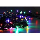 LED Universum WBLRGB1065 LED Lichterkette RGB mit 100 LEDs Länge: 10 Meter (Stimmungsbeleuchtung spritzwassergeschützt, für innen und außen, Weihnachten, Feier, Wohnzimmer, Garten, Terasse)