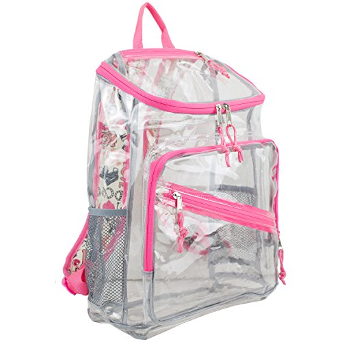 Clear backpack – Eastsport Sac à dos transparent Toploader