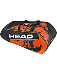 Head Radical 9R Supercombi BKOR - Raquetero, color negro / naranja / blanco, talla única