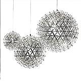 CHRISTMAD Geschenk LED Pendelleuchte Kreative Persönlichkeit Treppe Wohnzimmer Lichter Postmodernen Funken Ball Ball Ball Anhänger Hotel Shop Restaurant Beleuchtung,40Cm
