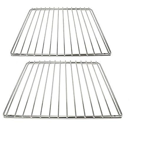 cookspace® Chrome étagère réglable Bras de grille fixe universel pour toutes les marques de four & Grill (Lot de 2, 320mm x