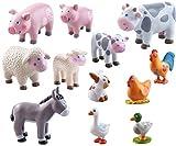 Haba. Little Friends Bauernhoftiere als Set - 12 teilig