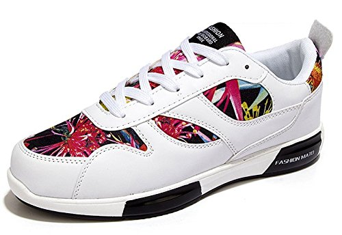 Men's Comfortable Outdoor Athletic Skateboarding Shoes white