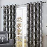 Best Home Fashion Blackout Curtains 100s - Fusion - Woodland Trees - 100% Cotton Ready Review