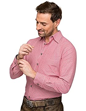 Stockerpoint Trachtenhemd Dave2 rot