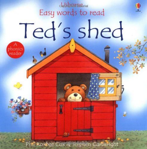 Ted's Shed (Usborne Easy Words to Read)