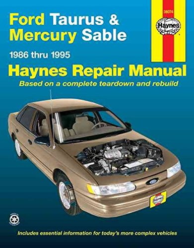 ford-taurus-mercury-sable-86-95-automotive-repair-manual-by-bob-henderson-published-august-1996