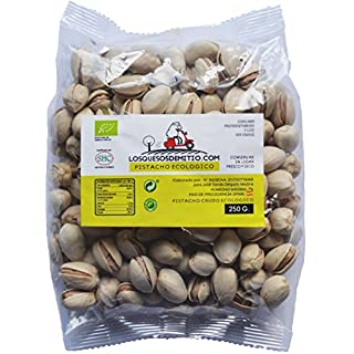 Pistachio Nuts Organic with Premium Quality from Spain (500g of raw Whole Organic Pistachios, Unsalted, Natural, Healthy and eco-Friendly), from Losquesosdemitio