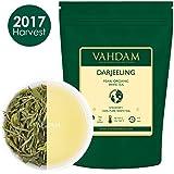 Cosecha 2017, Arya Pearl Darjeeling First Flush, té blanco, 100% Pure, té blanco sin blanquear, hojas sueltas, fuente directa de Arya Tea Estate, Mellow, Rich & Limited Edition (25 tazas), 50g
