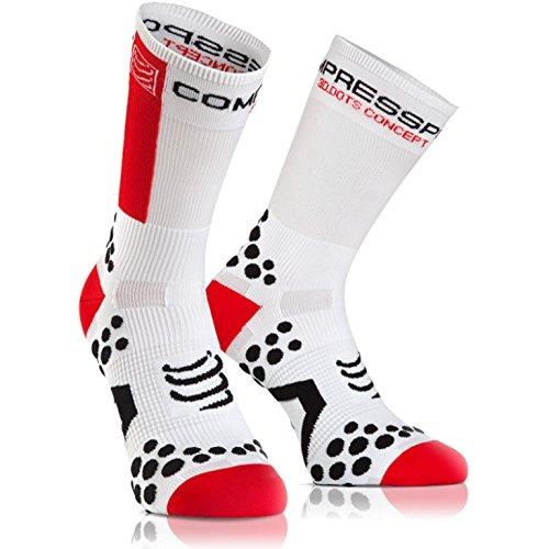 Compressport Racing Socks V2.1 Bike Hi Calzino Bici da Gara e Allenamento