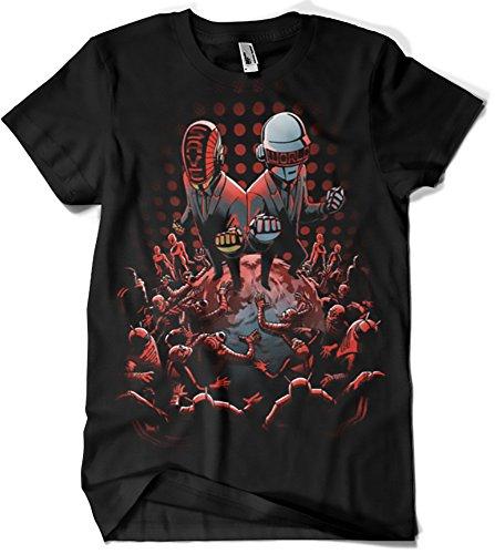 Camiseta Daft Punk - Saviors (Fuacka)