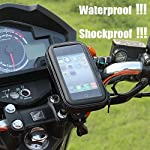 1. Mount on any bike / motorcycle whose diameter handlebars.2. Bringing convenience to check the time / map / vocations / messages, regardless of the good days or rainy days.3. This waterpfoof bike / motorcycle event is designed for Samsung Galaxy S5...
