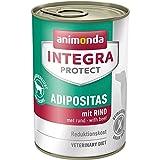 animonda Integra Protect Adipositas mit Rind | Diät Hundefutter | Nassfutter bei Übergewicht (6 x 400 g)