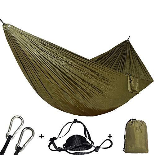 ABNMKJH 1-2 Personne Camping hamac Parachute de Voyage en Plein air Sac à Dos hamac de Plage