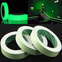 jieGREAT Office & Stationery  Luminous Tape Self-adhesive Glow In The Dark Safety Stage Home Decorations Warning Tape Back to School