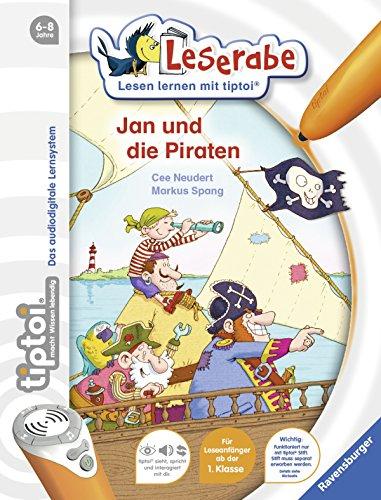 Preisvergleich Produktbild tiptoi® Jan und die Piraten (tiptoi® Leserabe)