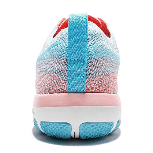 Nike W Free Tr Focus Flyknit, Scarpe da Escursionismo Unisex – Adulto Bright Melon/Polarized Blue