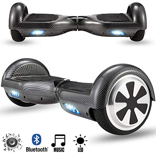 Magic Vida Skateboard Électrique Bluetooth 6.5...