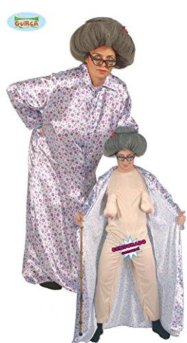 KOSTÜM - SEXY OMA - Größe 52-54 (L), Granny Alte Frau Grandma (Mann Kostüme Halloween Alter)