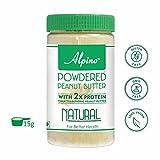 #9: Alpino Natural Peanut Butter Powder 350g (Unsweetened)