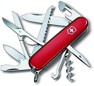 Victorinox Huntsman 13713B1 - Cuchillo (9,1 cm, 2,7 cm, 107g, Acero inoxidable, Rojo, Acero inoxidable) (B001U4Y7ZE) | Amazon Products