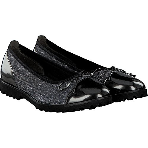 Gabor Shoes Gabor Jollys, Ballerines Femme Argento Metallic (69)