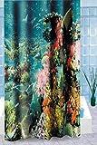 Carpemodo Textiler Duschvorhang Under Water Größe 180 x 200 cm, 100% Polyester