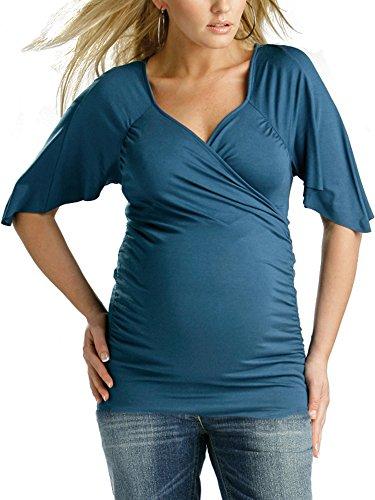 2-in-1-top-per-maternita-e-allattamento-a-maniche-corte-maglia-per-gravidanza-allattamento-blu-42