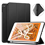 Robustrion Smart Flexible Trifold Flip Stand Case Cover with Pencil Holder for iPad