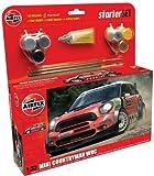 Airfix A55304 Modellbausatz Mini Countryman WRC Starter Set