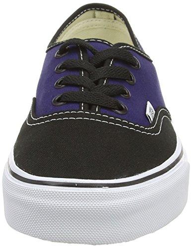 Vans U Authentic, Unisex-Erwachsene Sneakers Mehrfarbig ((2-Tone) black/patriot blue)