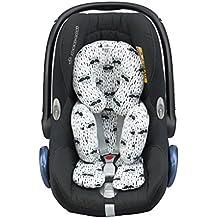 Reductor antialérgico universal para Maxi-Cosi, capazo, silla de coche, silla de paseo. Racoon Janabebe ®