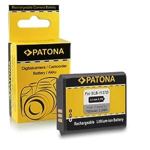 Batterie SLB-1137D pour Samsung Digimax i85 | L74w | L210 | NV11 | NV24HD | NV30 | NV40 | NV100HD