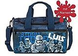 personalisierte Sporttasche mit Namen Bedrucken Star Wars, Reisetasche Bedrucken