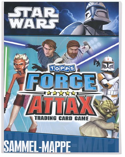 Force Attax - SERIE 1 - Star Wars - 1 Sammelmappe - (LEER) OHNE Karten
