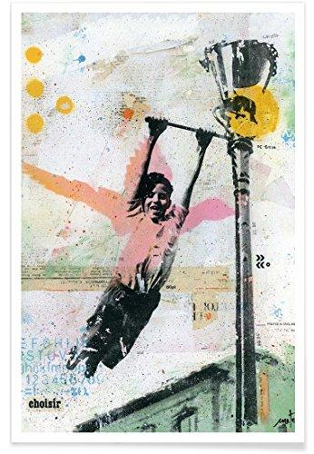 JUNIQE® Poster 60x90cm Street Art - Design