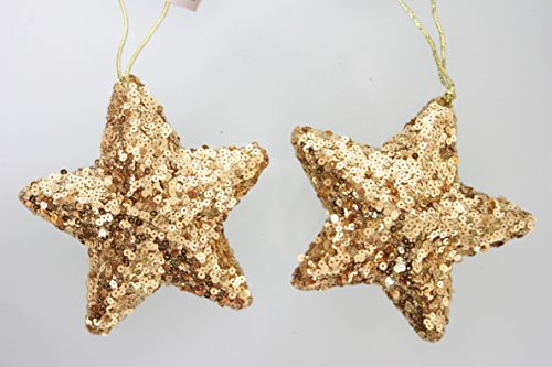 set-di-2-golden-appendere-decorazioni-a-stella-di-natale
