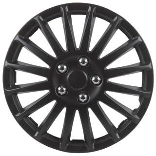 Cartrend  75175 Premium- Radzierblenden 4er- Satz Suzuka, schwarz 38,1 cm (15 Zoll)