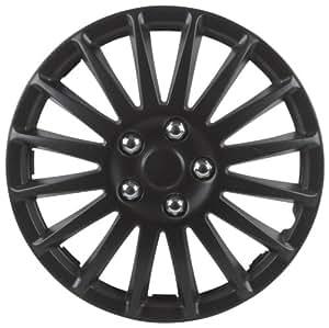Unitec 75176 Premium- Wheel Cover 4- Set Suzuka, Black 40,6 cm (16 Inches)