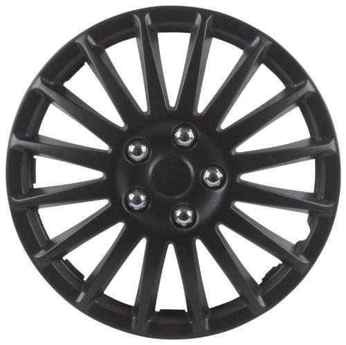 Unitec 75175 Premium- Radzierblenden 4er- Satz Suzuka, schwarz 38,1 cm (15 Zoll)